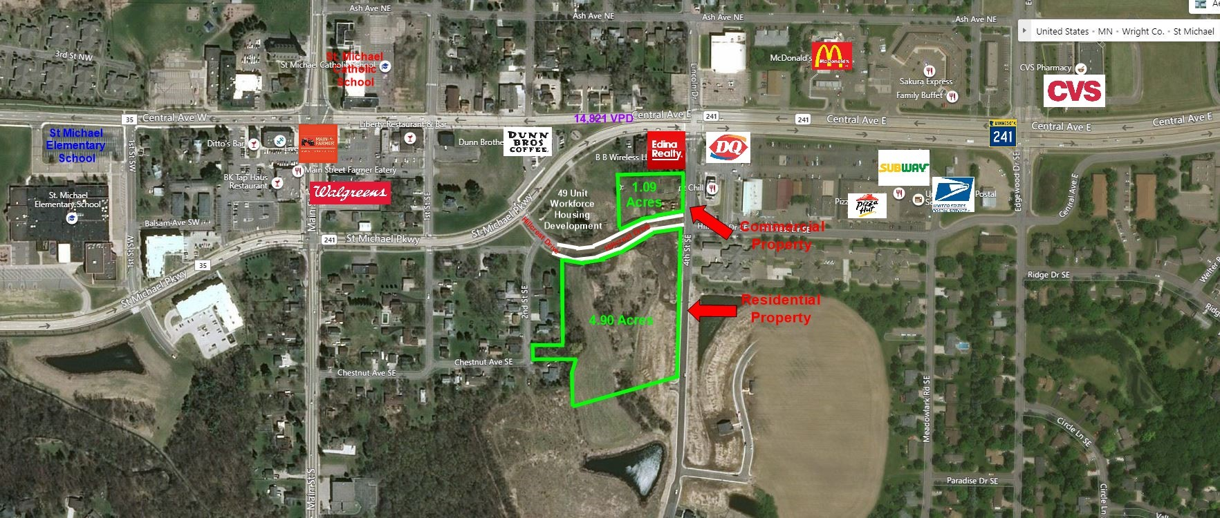St. Michael, MN | Hillcrest Land Development - Residential